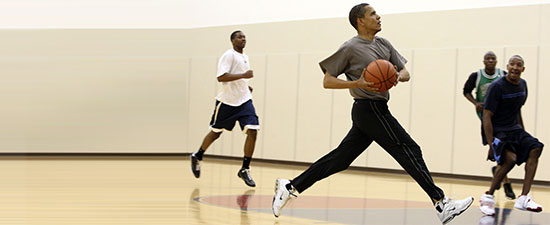 President Obama Faces Agony of the Feet