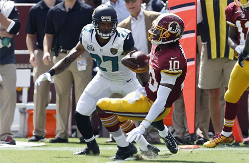 What's a Dislocated Ankle? Ask NFL Quarterback RG3
