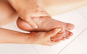 Diabetic foot care, check your feet