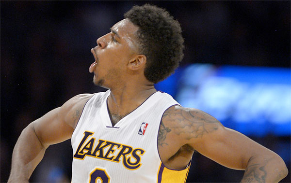 Lakers Nick 'Swaggy P' Young Out With Peroneal Tendon Strain