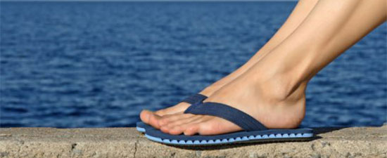 Flip-flops: Summertime Woes for your Toes