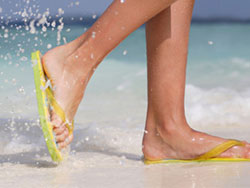 Are flip flops bad for your feet, University Foot and Ankle Institute