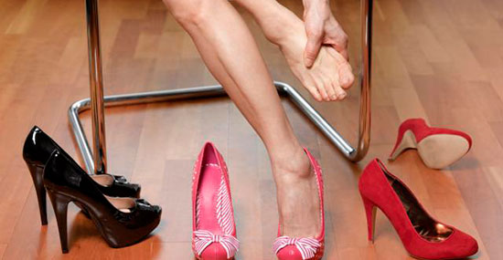 Women, High Heels & Bunions: why can't we all just get along?
