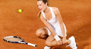 Tennis and ankle sprains, sports injuries