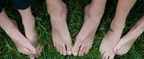 STOP walking barefoot and your painful feet will love you again! Kim Kardashian, you listening?
