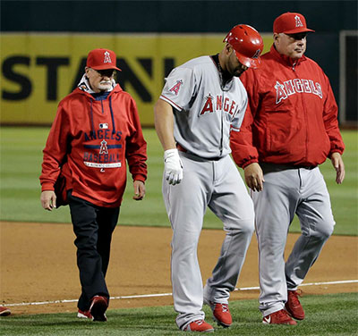 Playing Through the Pain: Plantar Fasciitis Heel Injury Slows Angels' Albert Pujols... Again!
