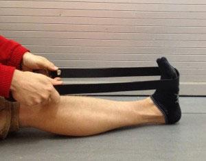 Albert Pujols, Playing through heel pain, plantar fasciitis heel stretches