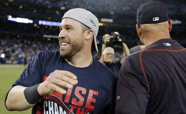 Jason Kipnis Cleveland Indians Ankle Sprain