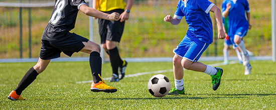 Children, Sports and Foot Injuries: Young Ankles Take a Beating as Spring Sports Season Starts Up