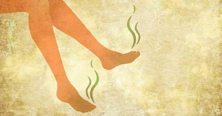 Don't Let Foot Odor Follow You Around! Here Are 5 Great Remedies for You to Try at Home.