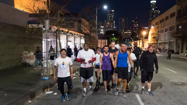 The Homeless are Now Running From LA's Skid Row to Rome's Marathon.  How a Local Judge is Making a Difference