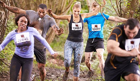 Mud Run, Endurance Run, Marathon Running Los Angeles
